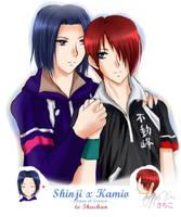 To Shuchan: ShinjixKamio -PoT- by Asaphira