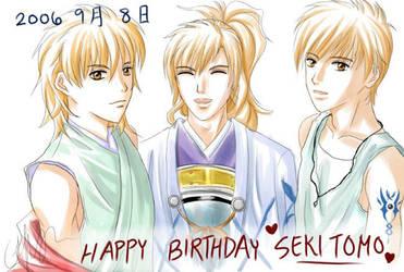 +HAPPY BIRTHDAY SEKI TOMOKAZU+ by Asaphira