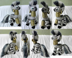 Zecora plush by Rens-twin