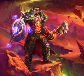Burning Crusade Warrior by Archalos
