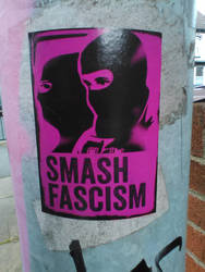 Smash Fascism by naesk