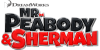 Mr. Peabody and Sherman stamp - Logo no.1 by Csodaaut