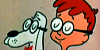 RnB stamp - Mr. Peabody and Sherman no.5 by Csodaaut