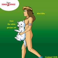 Jungle 2 Jungle - Mimi-Siku and Coco cat by Csodaaut