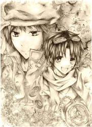 Prize: Lev and Rui by Aki95