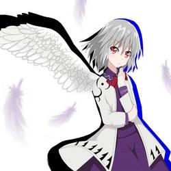 sagume's wing by TokinoWataru