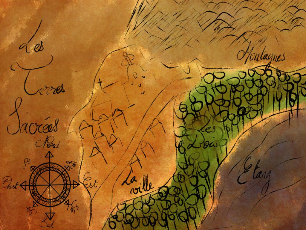[GR]Carte des Terres Sacrees by Kahishiki