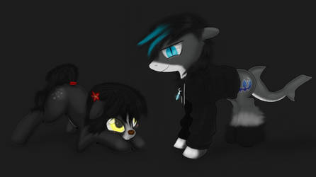 Bri and Shark pony by KGuMiHo