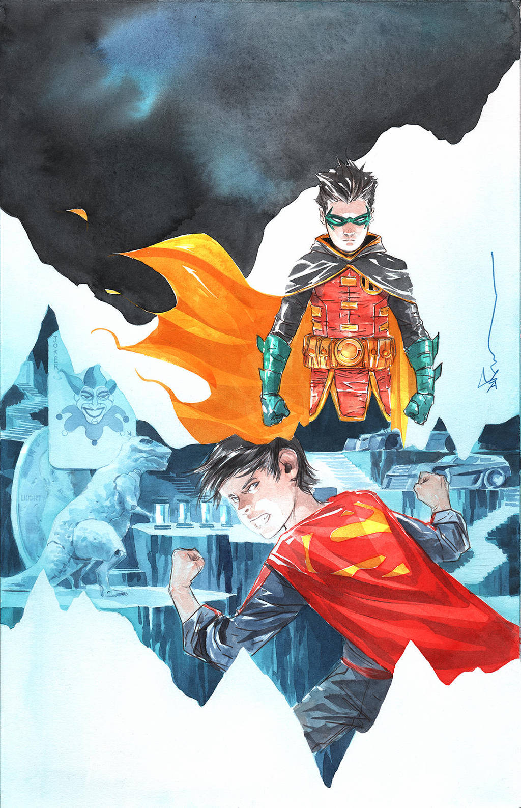 super sons cover 5 by duss005