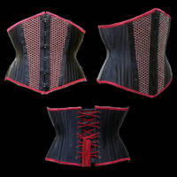 Corset with Chainmaille by WaistedSpace