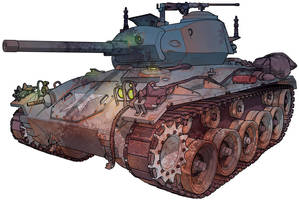 Creepy Tank 2 by MikeFaille