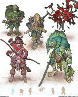 Gamma World Monsters 3 by MikeFaille