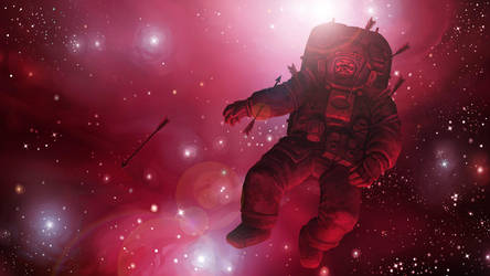 Astronaut by MikeFaille