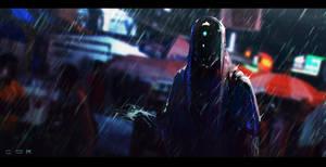 Rain Street by LukaszSienkiewicz