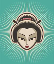 Geisha by mictoon