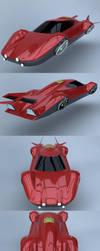 Flying car prototype Y body by Marian87