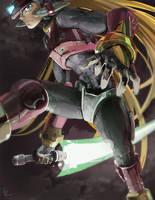 Megaman Zero by LaChuc