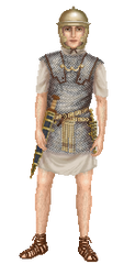 Roman Legionary by Hrivalasse