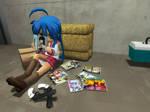Reading Some Manga 4 by Highwind017