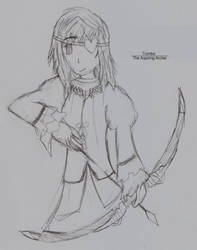 Tiombe - The Aspiring Archer by Highwind017