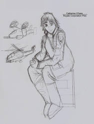 Project Gunslinger - Catherine O'hara by Highwind017