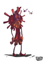 Skull Kid of sorts by egnawg