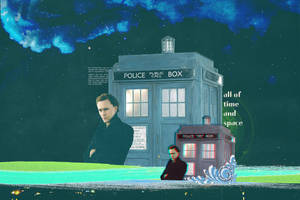 Tom Hiddleston as the 12th Doctor - Wallpaper 2 by criminal-who