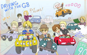 Driving with the G8 by TechnoRanma