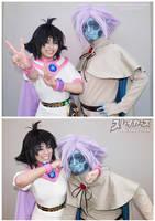 Zelgadis and Amelia by TechnoRanma