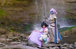 Slayers Cosplay Waterfall by TechnoRanma