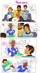 Voltron - Lance x Allura by TechnoRanma