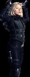 Infinity War Black Widow 2 - PNG by Captain-Kingsman16