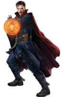 Infinity War Doctor Strange (1) - PNG by Captain-Kingsman16