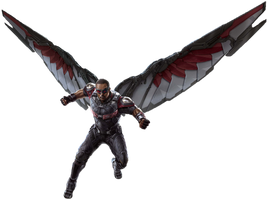 Infinity War Falcon (1) - PNG by Captain-Kingsman16