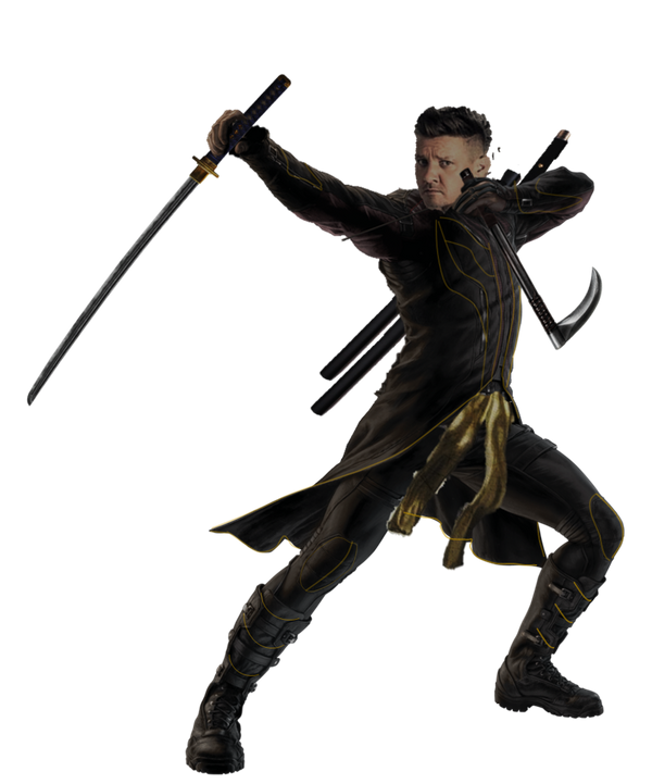 Avengers 4 Ronin (Unmasked) - PNG by Captain-Kingsman16