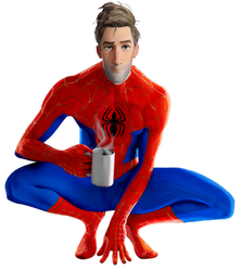 Into the Spider-Verse - Spider-Man (4) - PNG by Captain-Kingsman16