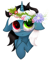 Little Nexus rly likes the spring by Zmei-Kira