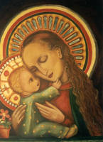 Madonna and Child by jfkpaint