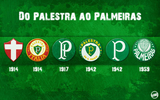 Palmeiras 1914 - 2010 by perdidaum