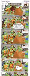 TMNT: Donnie's Joke by loolaa