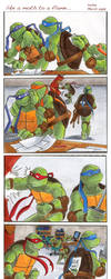 TMNT: like a moth to a flame.. by loolaa