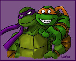 New Turtles Icon ..bigger... by loolaa