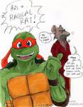 TMNT: Radical Rat by loolaa