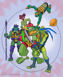 Rise of the TMNT by loolaa