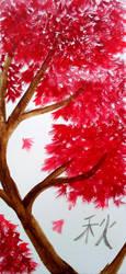 Fall Maple by fruitbatslyra