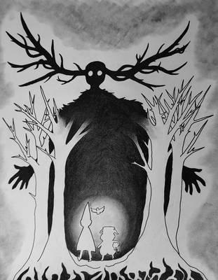 The Beast by fruitbatslyra