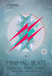 Minimal Beats Flyer by styleWish