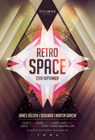 Retro Space Flyer by styleWish