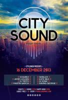 City Sound Flyer by styleWish
