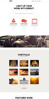 Bright - One Page Muse Theme by styleWish